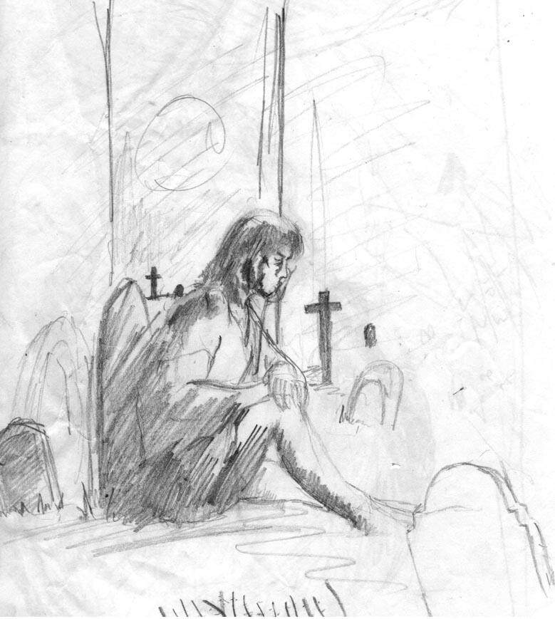 Dark moon sketch2